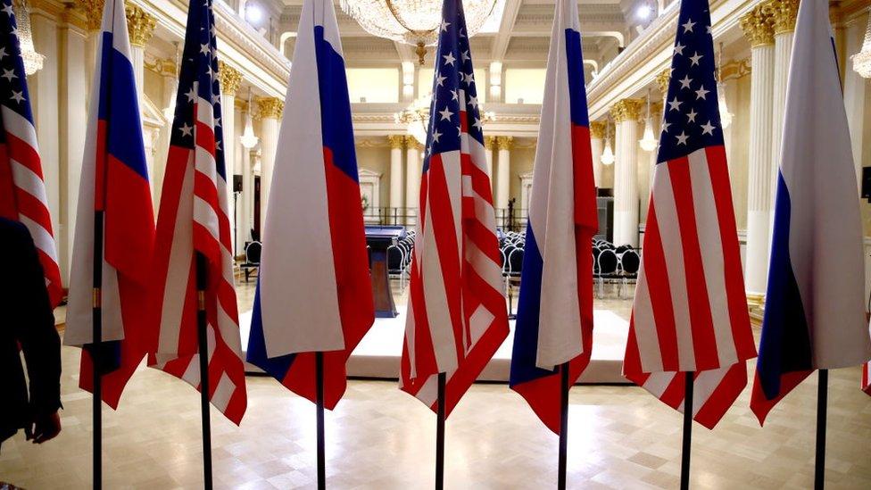 Росія - США