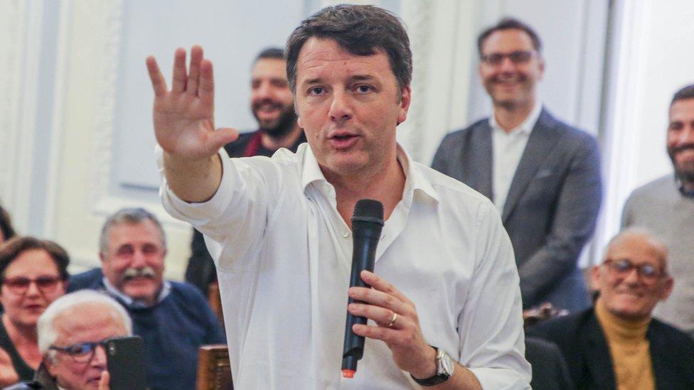 File pic of Matteo Renzi