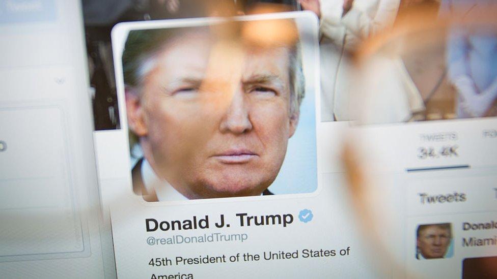 Cuenta de Twitter de Donald Trump
