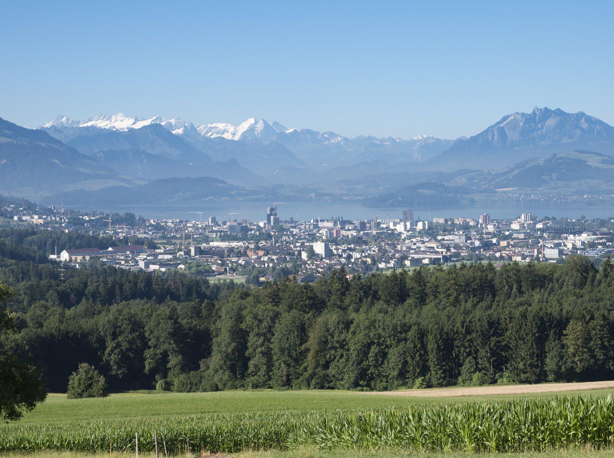 Un paisaje de Suiza.