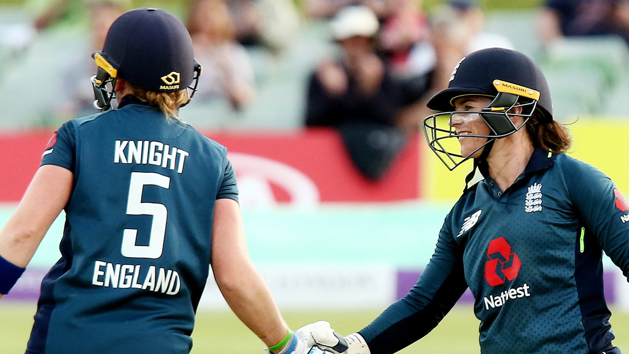 England v South Africa: Tammy Beaumont & Heather Knight guide England to series victory