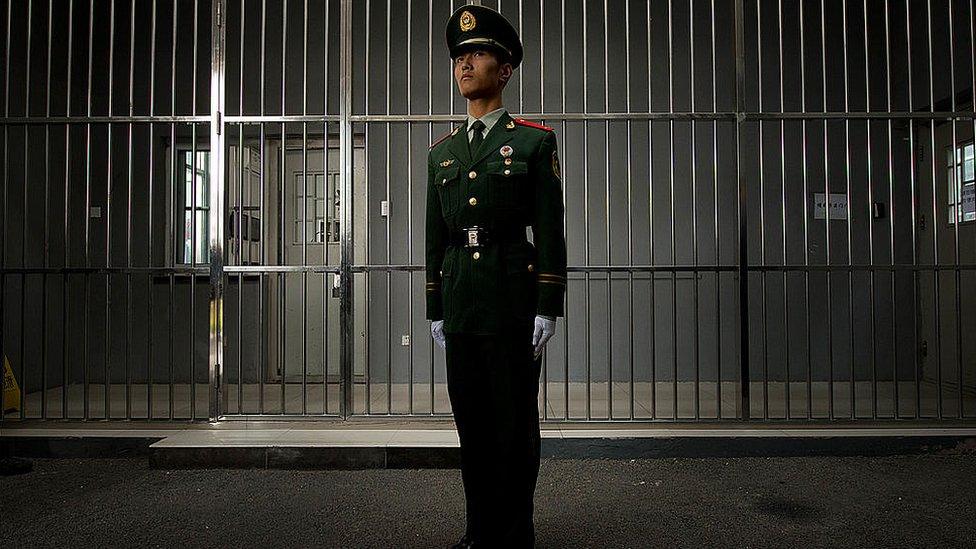 Gambar penjara di Beijing.