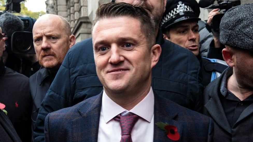 Tommy Robinson: Contempt case referred to attorney general