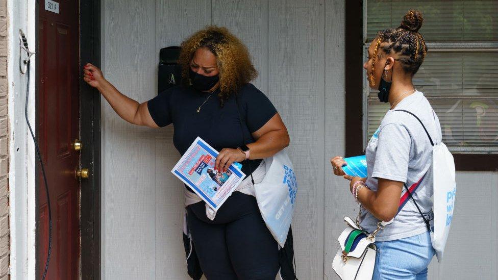 Promotores de la vacunación en Alabama