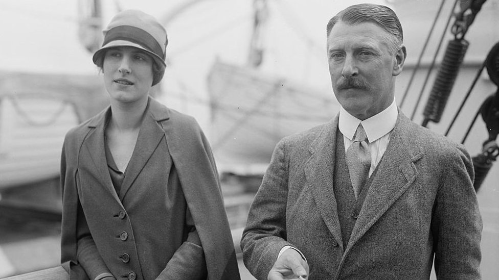 Sir Cecil and Lady Mary Chubb