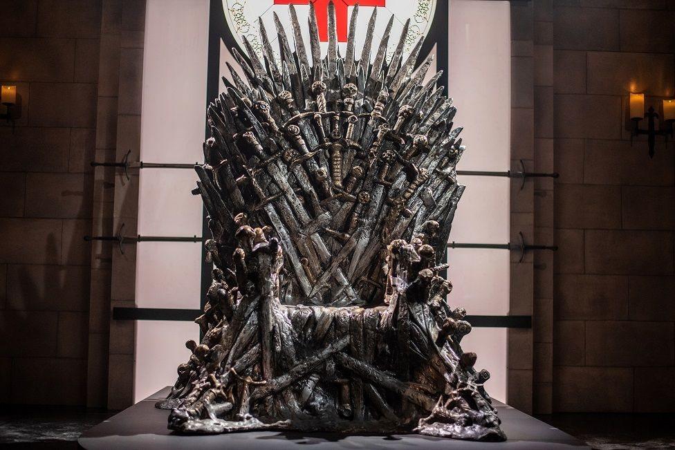 Trono de hierro de Game of Thrones