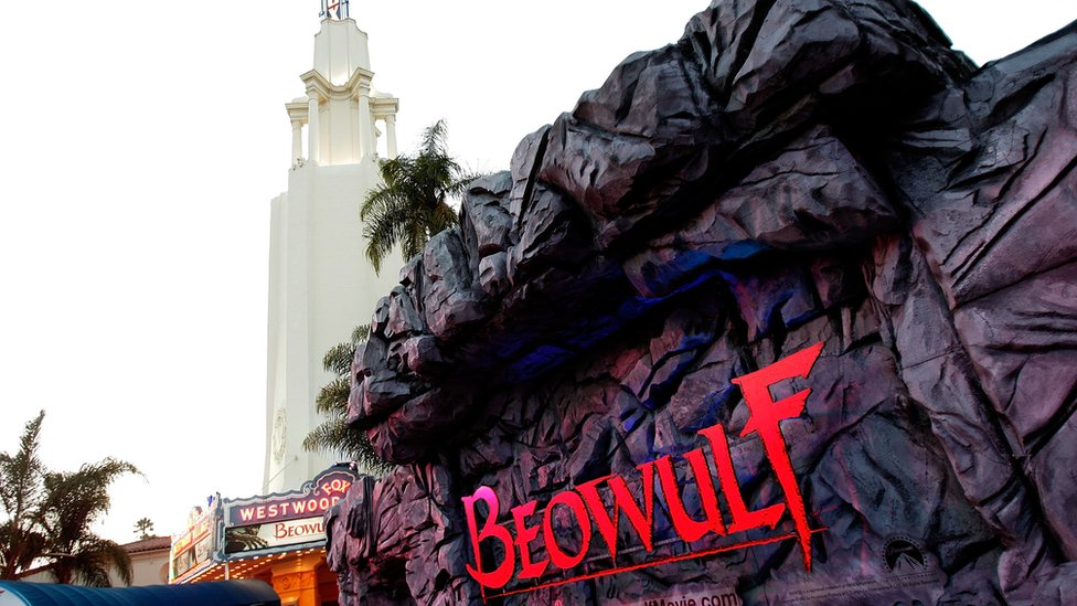 The premiere of the Beowulf film in LA in 2007
