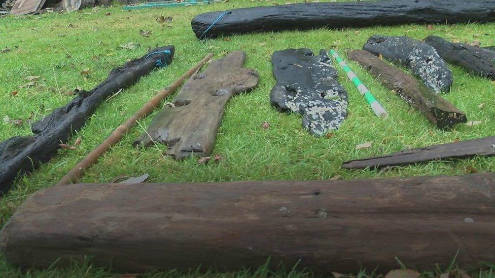 Remains of USS Bonhomme Richard found off Yorkshire coast