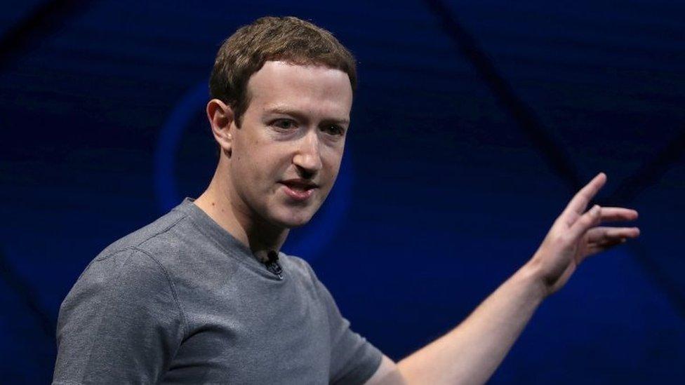Facebook CEO Mark Zuckerberg delivers the keynote address at Facebook's F8 Developer Conference (18 April 2017)
