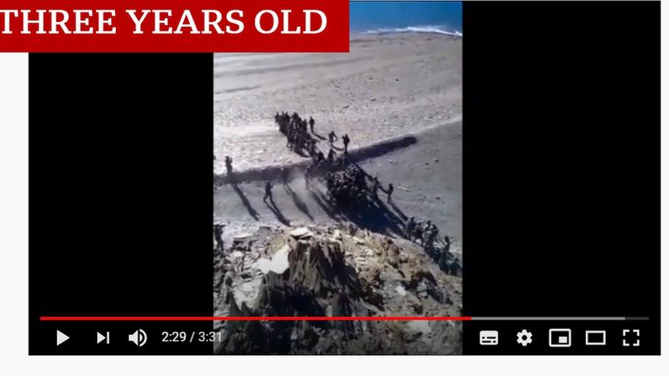 這段視頻是3年前的