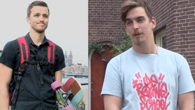 Dutch cousins Robbert and Wolf