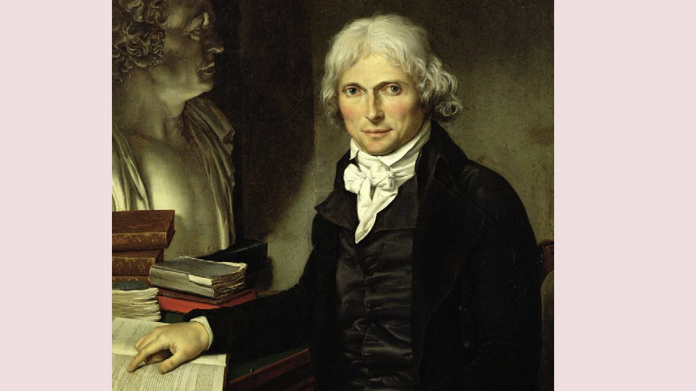 Retrato del médico anatomista francés Francois Xavier Bichat (1771-1802), por Pierre Maximilien Delafontaine.