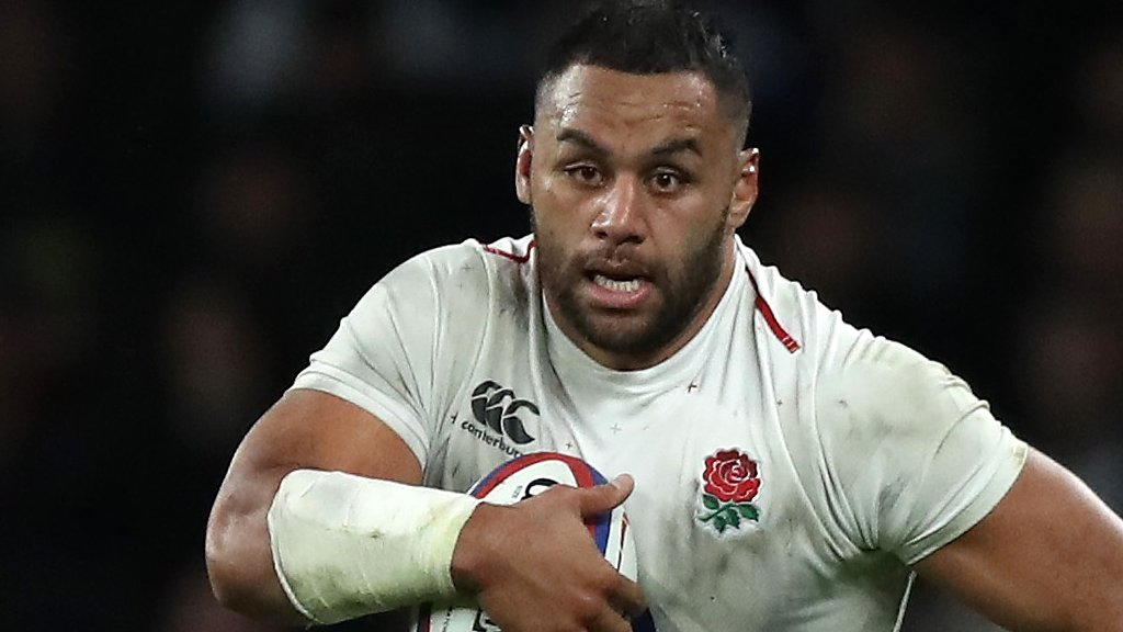 England number eight Vunipola given 'formal warning' by RFU