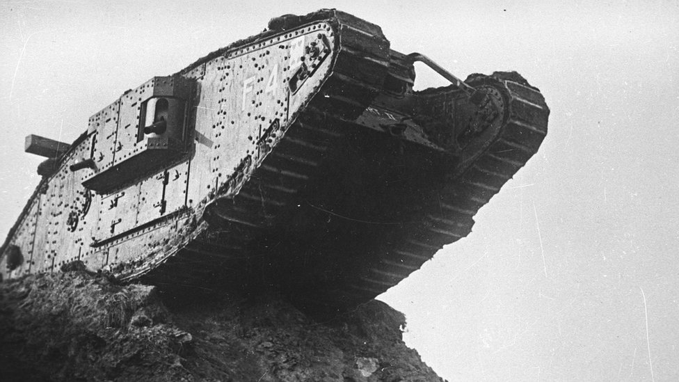 Tank trench