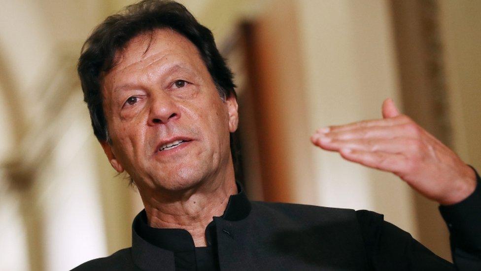 Imran Khan in Washington DC, 23 July