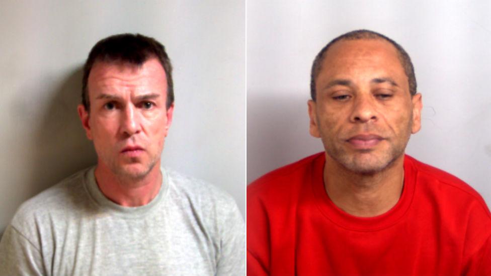 Bradley Johnson (left) and Paul Sultana (right)