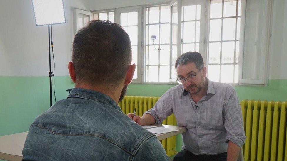 entrevista a Panzuto
