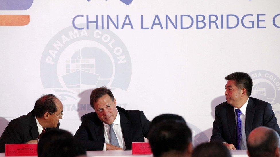 Antes del establecimiento de relaciones, China ya había invertido en el Canal de Panamá.