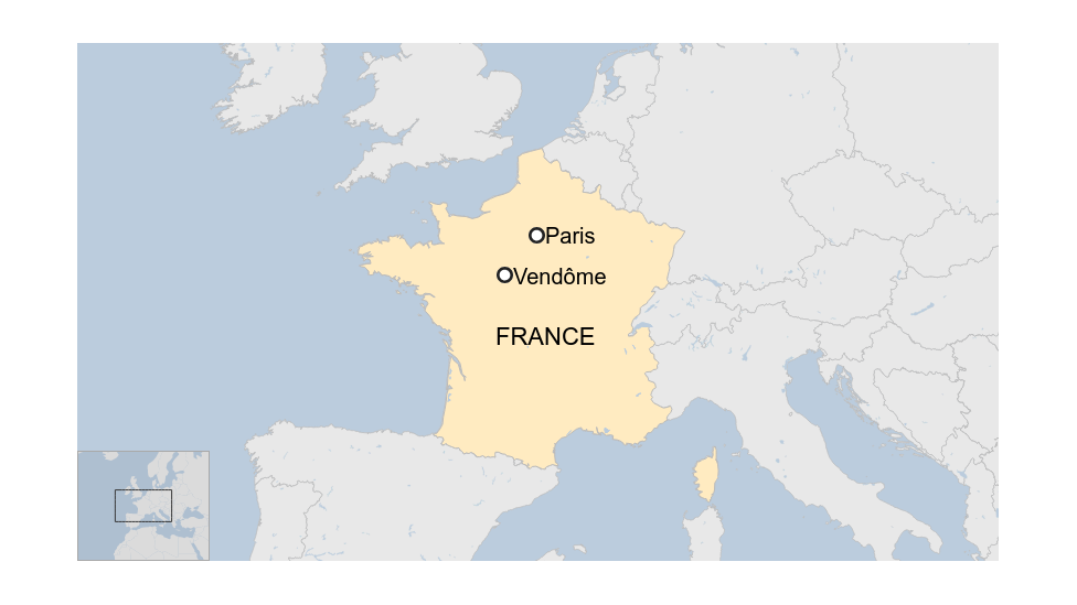 Peta Prancis
