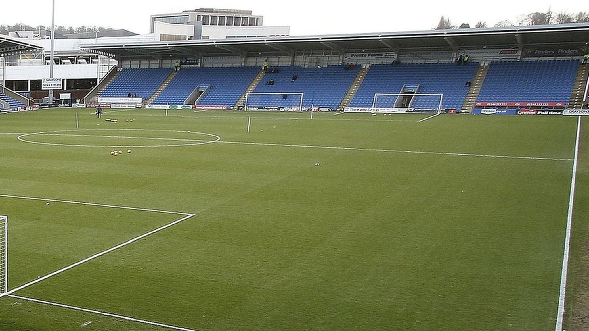 Chesterfield report £1m loss for 2017-18 after successive relegations