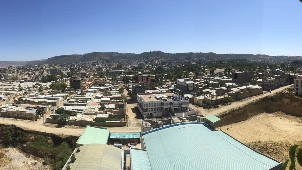 ميكيلي عاصمة تيغراي يسكنها نحو نصف مليون شخص