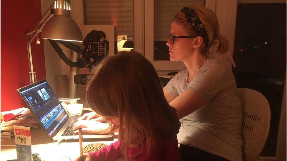 Rad od kuće s decom