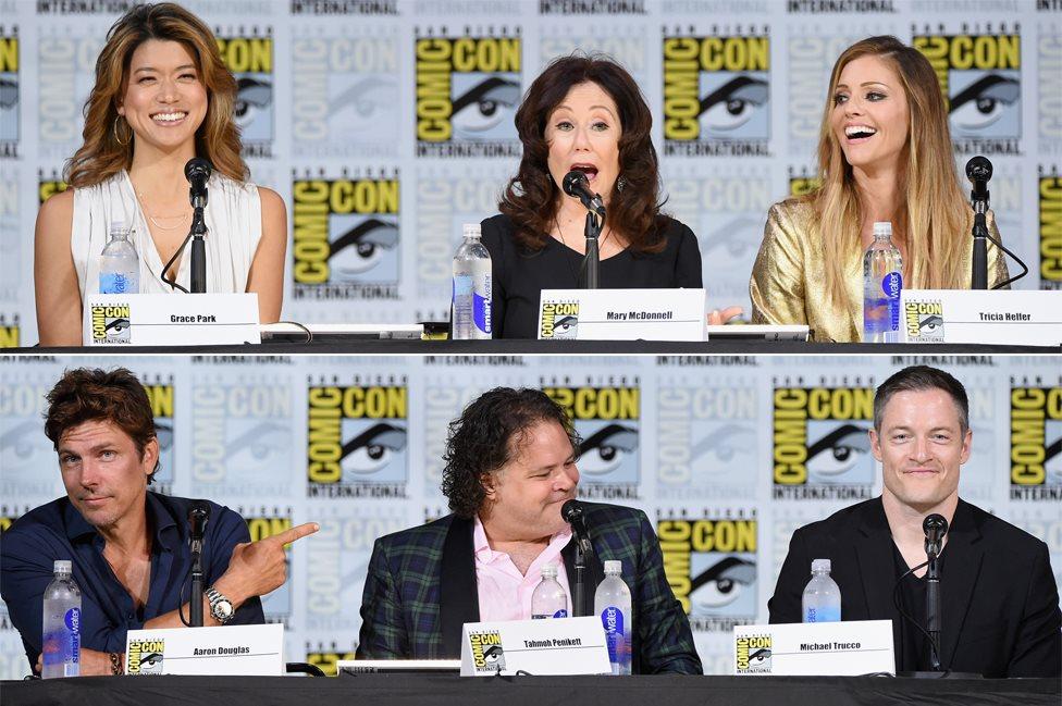 Cast of Battlestar Galactica