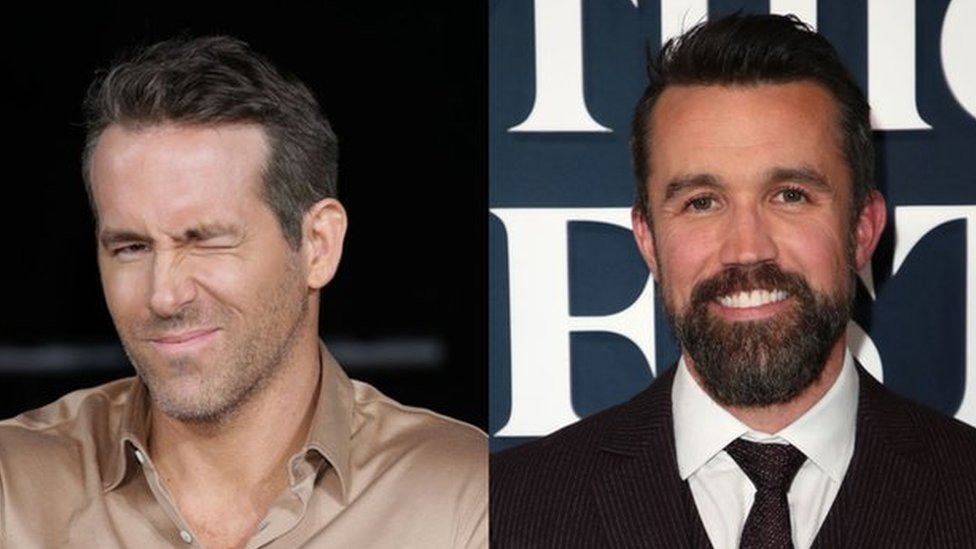 Ryan Reynolds and Rob McElhenney
