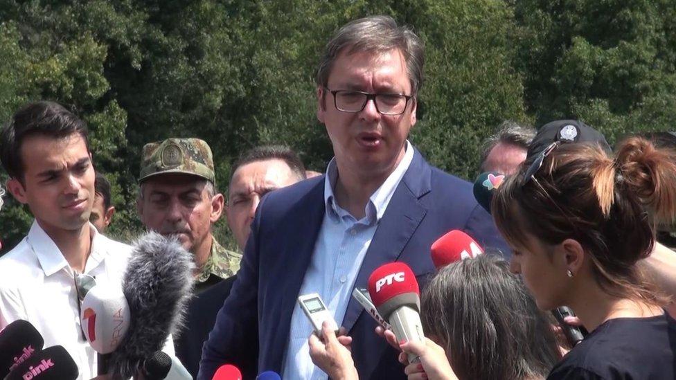Vučić sa medijima