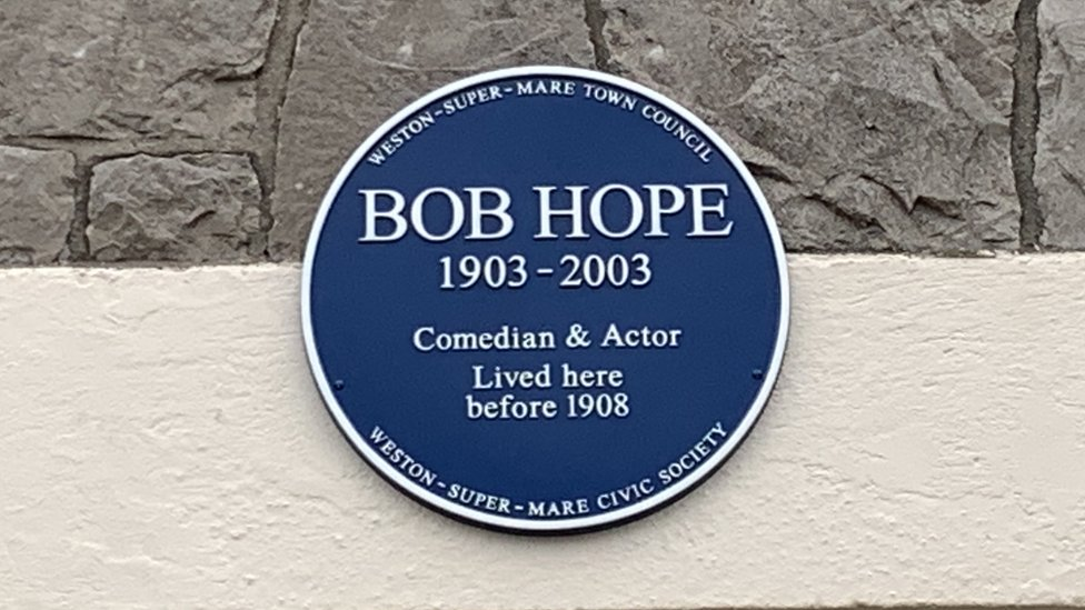 Bob Hope plaque