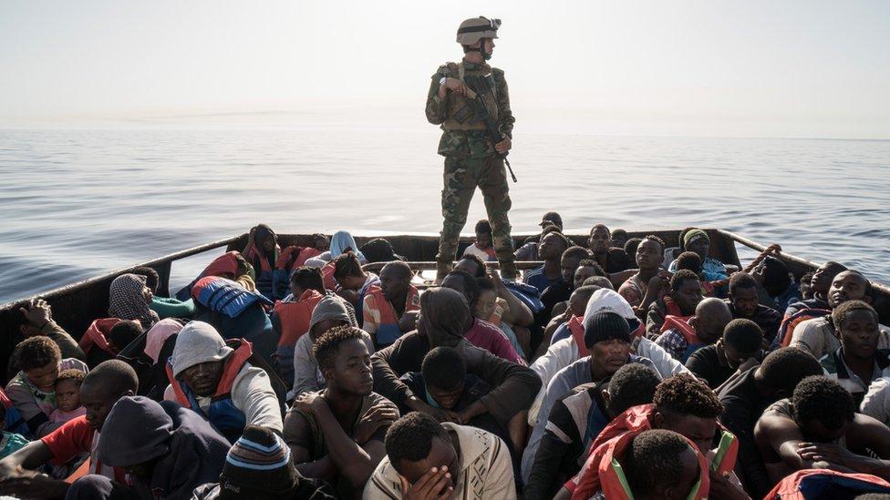 من المتوقع أن تناقش القمة قضية الهجرة غير الشرعية إلى أوروبا