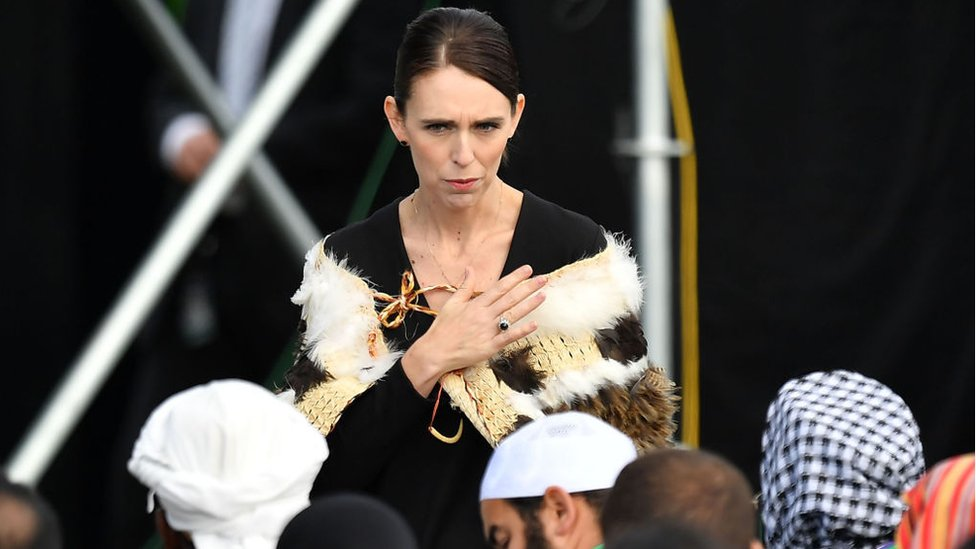 Yeni Zelanda Başbakanı Ardern, Christchurch'teki saldırılarda hayatını kaybedenler için anma törenine katıldı (29 Mart 2019)