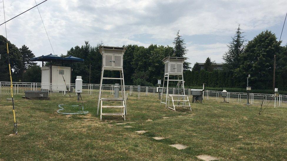 Meteorološka stanica na Košutnjaku