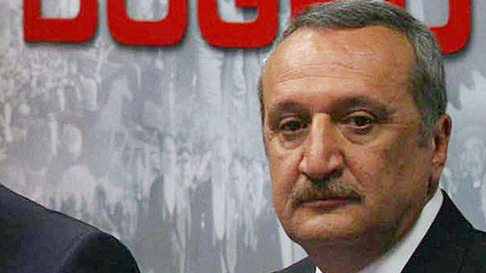 محمد أغار وزير الداخلية التركي الأسبق