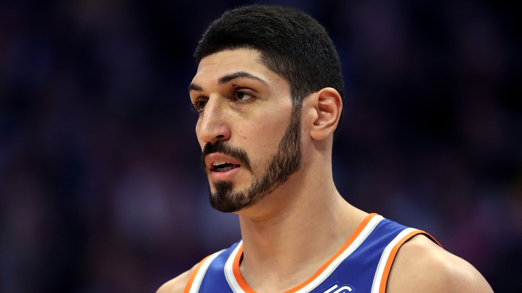 Enes Kanter: New York Knicks centre says he is trapped in US