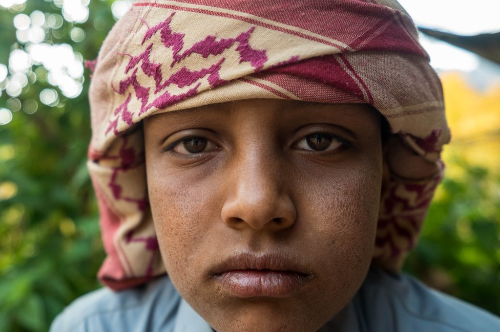 Young Bedouin boy
