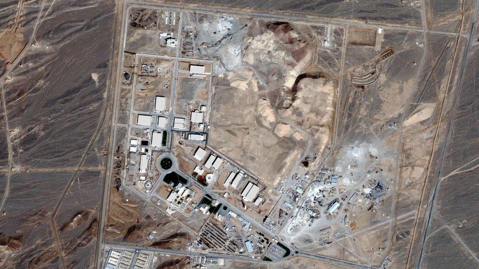 Planta nuclear de Natanz