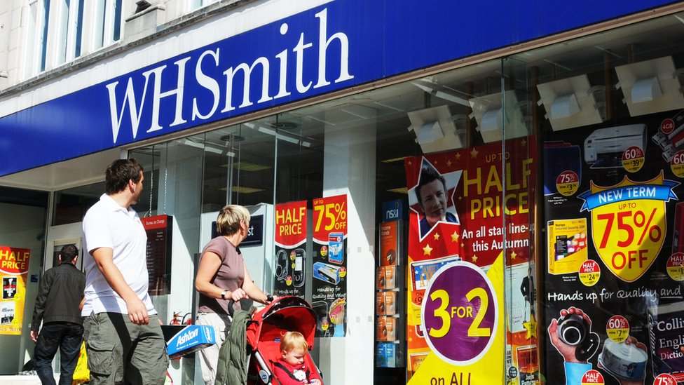 WH Smith voted UK's worst High Street shop in Which? survey