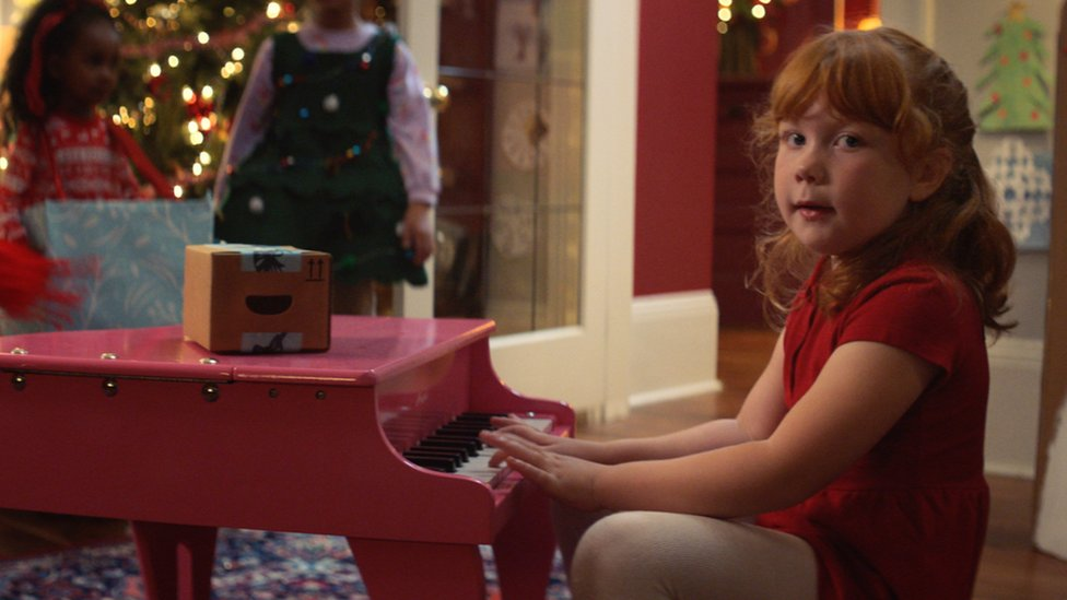 Amazon's festive ad