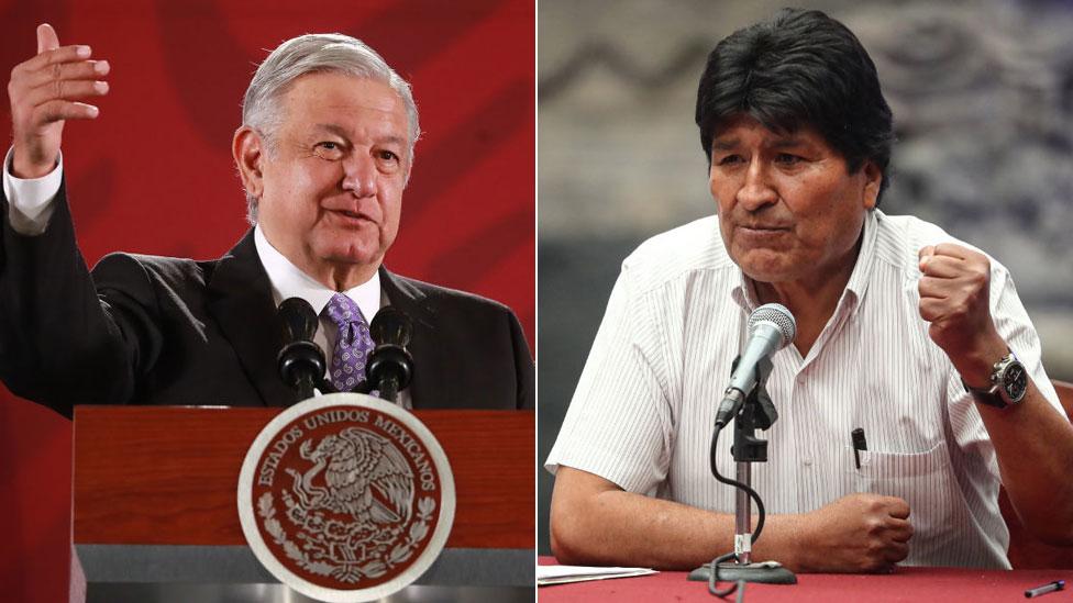 AMLO y Evo Morales