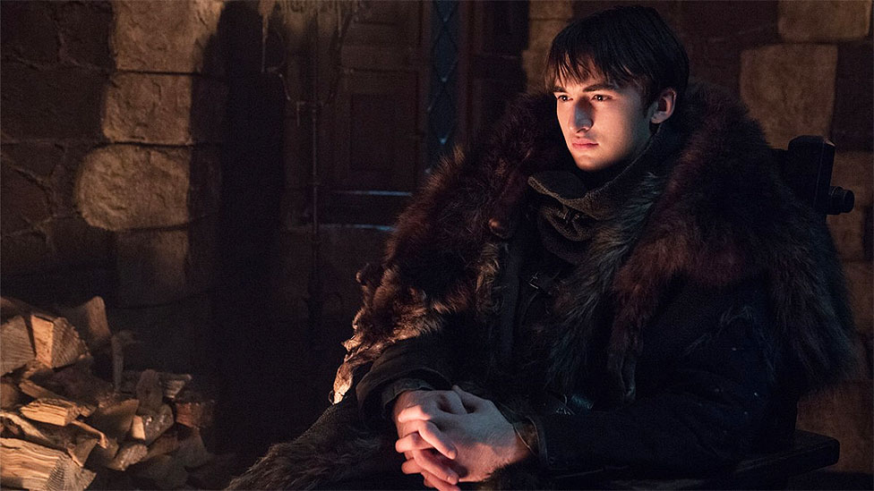 Isaac Hempstead Wright como Bran Stark