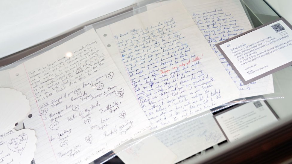 Tupac letters