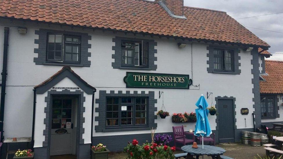 The Horseshoes pub