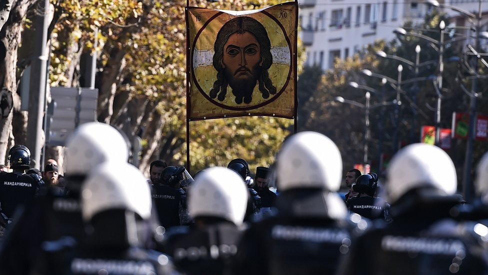 Protest protiv prajda u Beogradu