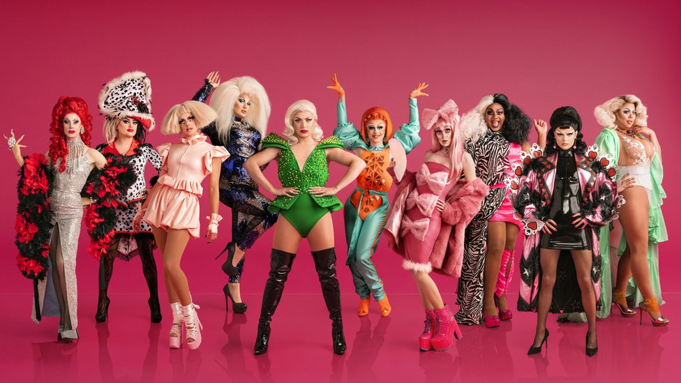 The queens of Drag Race UK
