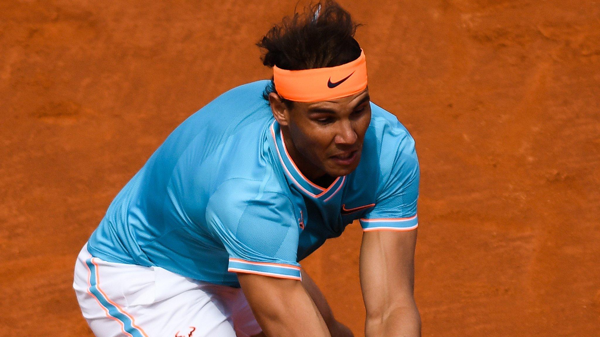 Barcelona Open: Rafael Nadal battles from set down to reach last 16