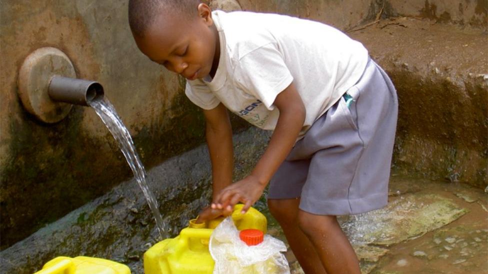 Freshwater in Kampala, Uganda