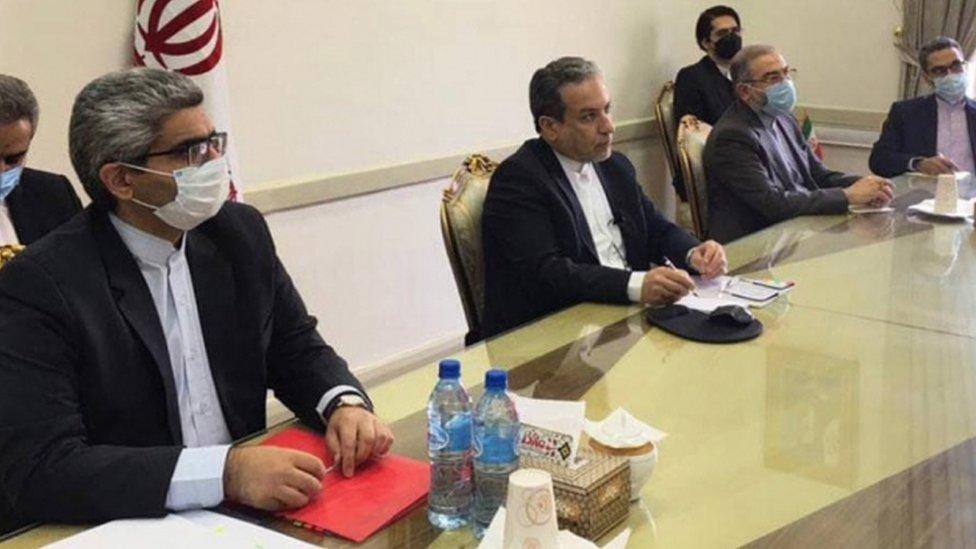 جانب من الاجتماعات في طهران