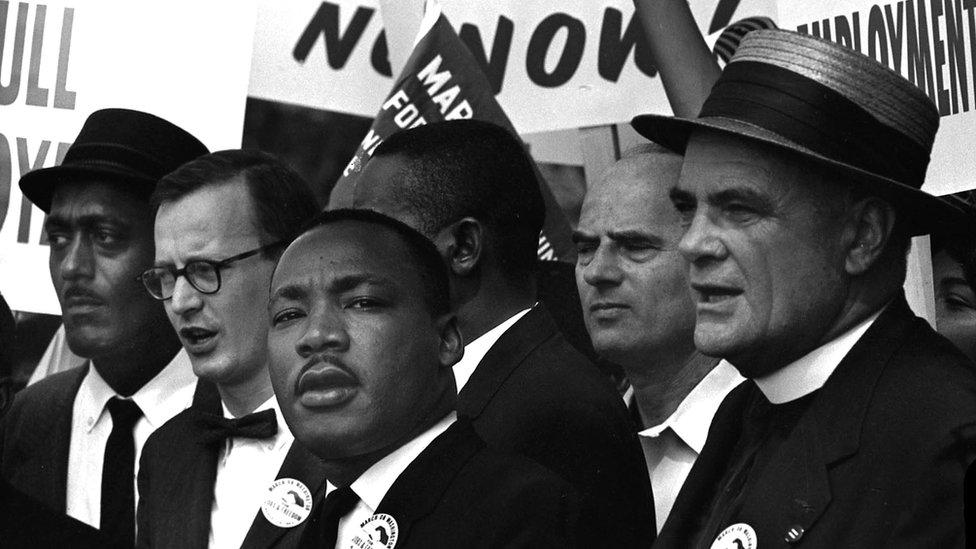Martin Luter King tokom govora u Vašingtonu