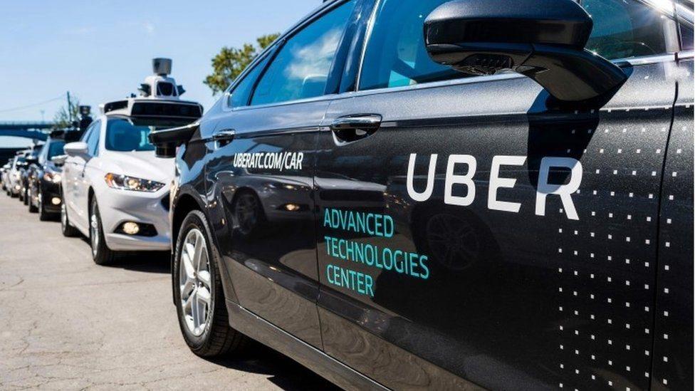 Auto autónomo de Uber